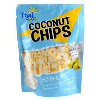 Harga Thai Coco Coconut Chips Yogurt 40g - Thailand