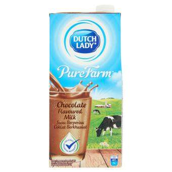 Harga UHT MILK DL PF Chocolate 1L