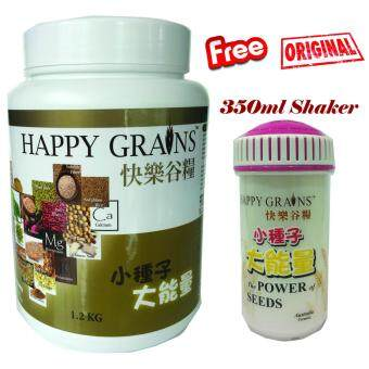 Harga Ymy Store, Happy Grains, ????, 1.2KG (Extra 2 sachets/25g, Shaker& Special surprise.)