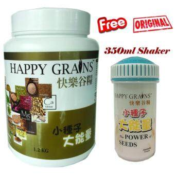Harga Ymy Store, Happy Grians, ????, 1.2kg (Extra 2 sachets/25g, Shaker& Special surprise)