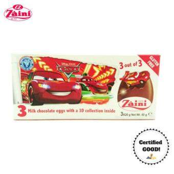 Harga Zaini Egg Disney Car Surprise Toy 3x20g