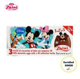 Harga Zaini Egg Mickey & Friends Surprise Toy Chocolate 60g