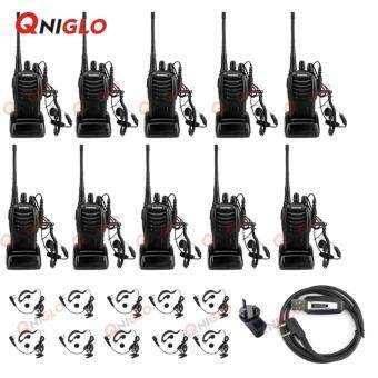Harga 10 Units Baofeng BF-888S CB Two Way Radio and 1 PC USB ProgrammingCable
