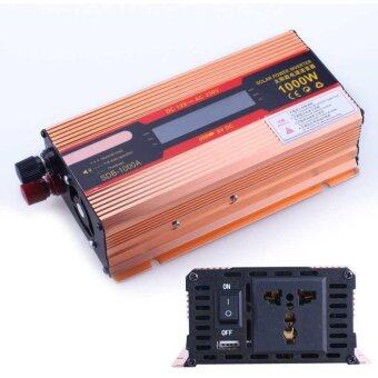 Harga 1000W DC 12V to AC 220V Modified Pure Sine Wave Power InverterHousehold LED