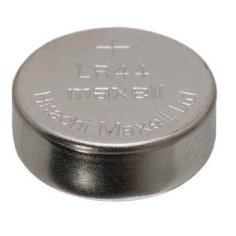 10PCS LR44 GENUINE Maxell Button Cell Alkaline Battery 1.5V Malaysia