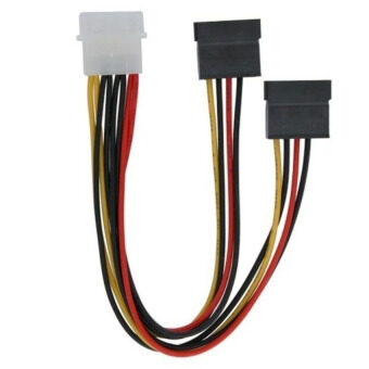 Sell 1pc new 4 pin ide molex to 2 serial ata sata hdd Best online c ide