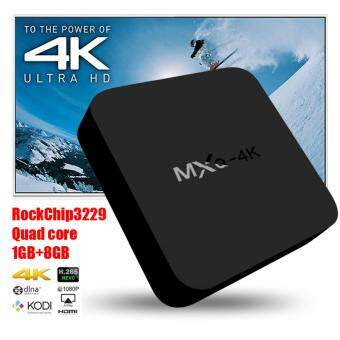 Harga 2017 Anroid TV Box MXQ 4K Android 5.1 Smart TV Box Quad Core SetTop Boxes XBMC Kodi Pre-installed WiFi 4K 1080P 64bit Internet TVBox