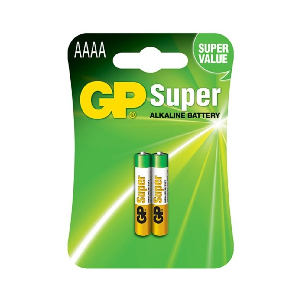 2PCS GP AAAA Super Alkaline Battery - GP25A-2U2 Malaysia