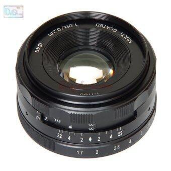 35mm 35 F1.7 Manual Lens for Fujifilm Fuji FX X-T10 X-T2 X-T1 X-A3 X-A2 X-A1 X-PRO2 X-PRO1 X-E2 X-E1 X-M1 - 3