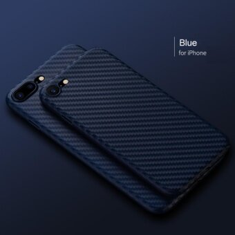 360 Carbon Fiber Ultra Slim Case For Apple iPhone 6/6s (Blue)