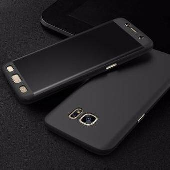 360 Degree Full Body Protection Cover Case With Tempered Glass forSamsung Galaxy J5 Prime (Black)