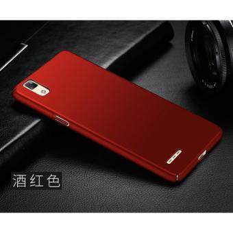 360 Degree Protective Case Ultra Thin PC Hard Case for Oppo F1/A35(Red) - intl