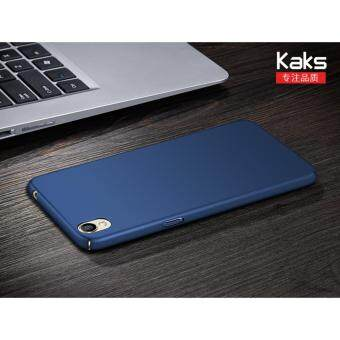 360 Degree Protective Case Ultra Thin PC Hard Case for OPPOA37(Blue) - intl