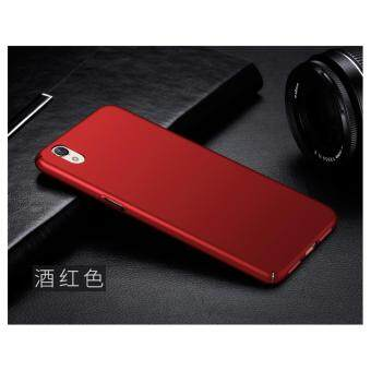 360 Degree Protective Case Ultra Thin PC Hard Case for OPPOA37(Red) - intl