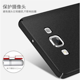 360 Degree Protective Case Ultra Thin PC Hard Case for SamsungGalaxy A5/A5 2015(Black) - 4