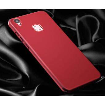 360 Degree Protective Case Ultra Thin PC Hard Case for VIVO V3Max(Red) - intl