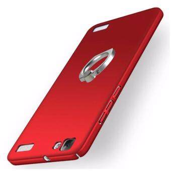 360 Degree Protective Case Ultra Thin PC Hard Case for VIVO Y37 +Metal Ring