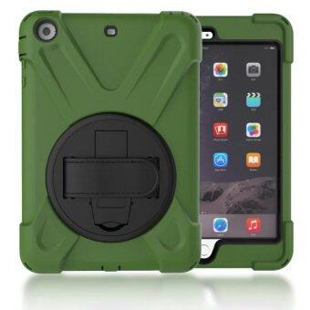 360 Degree Rotating Silicone + PC Pirate King Dust/Shock ProofCover Stand Holder Case for Apple IPad Mini 1 2 3 7.9 Inch Tablet