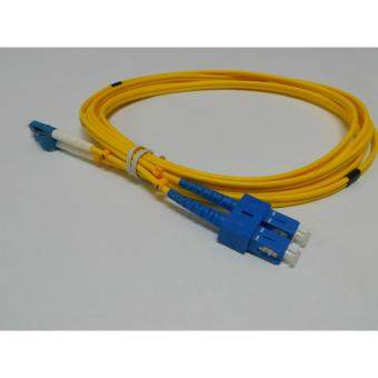 3C brand, SC-LC Duplex Fiber Patch Cord Cable, Single Mode, 9/125, 3meter, factory terminated