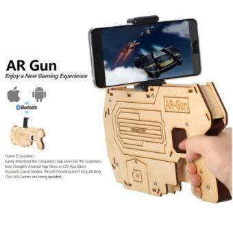 Harga 3D Bluetooth AR Gun Augmented Reality VR Gaming Gun SmartphoneShooting Games for Android iOS Phones