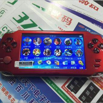 Harga 5.1-Inch 8G PSP Game Player 10000 Free Games Handheld GBA Consoles= MP3/MP4/MP5/FM/Camera (Red)