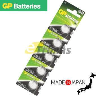 Harga 5PCS CR2032 GENUINE GP Batteries Lithium Cell Electronic Device
