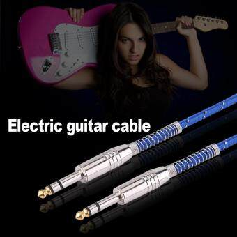 6.35mm Stereo Male To Male Audio Cable For Electric Guitar MixerMono/Stereo 5meters - 5