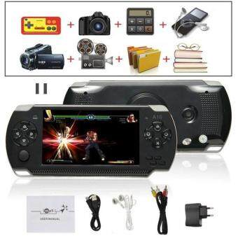 Harga 8G 32bit Handheld Game Console Video Games MP5 Retro Megadrive PXPPSP with Camera (Black)