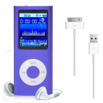 8GB MP3 MP4 Player (Purple)