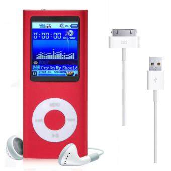 8GB MP3 MP4 Player (Red)