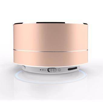 A10 Mini Metal Bluetooth Speaker Handsfree Subwoofer Wireless Music Sound Box Support Micro SD / TF