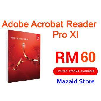 Harga Adobe Acrobat Reader Pro Professional XI Full Genuine Version