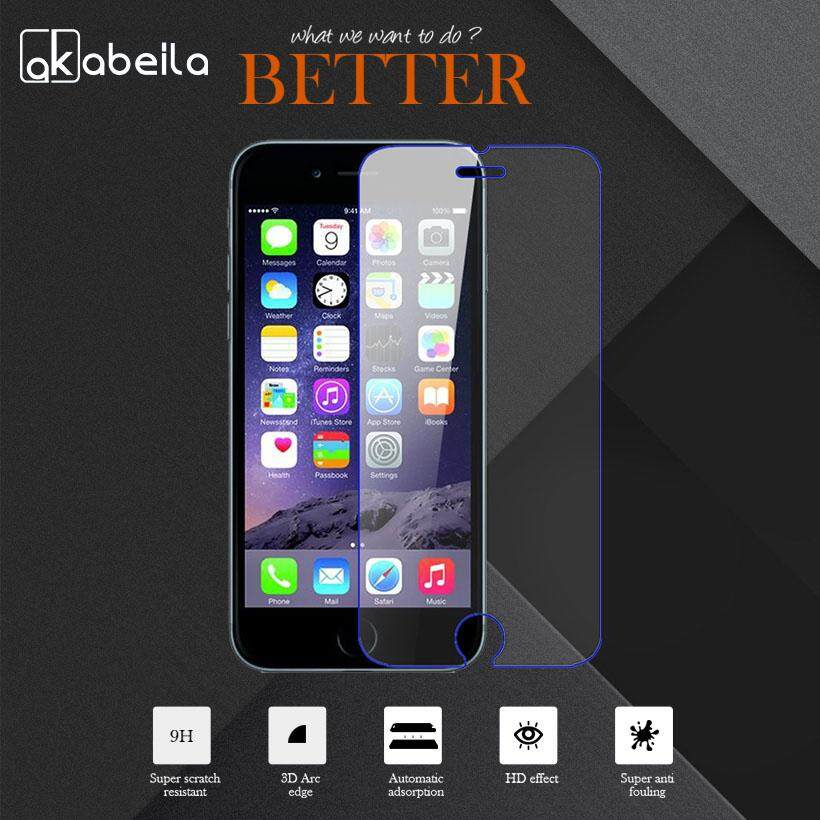RUI HE 3D Full CURVED Coverage Tempered Glass Screen Protector For Iphone 6P 6SP (White) Malaysia - intlIDR85000. Rp 85.000