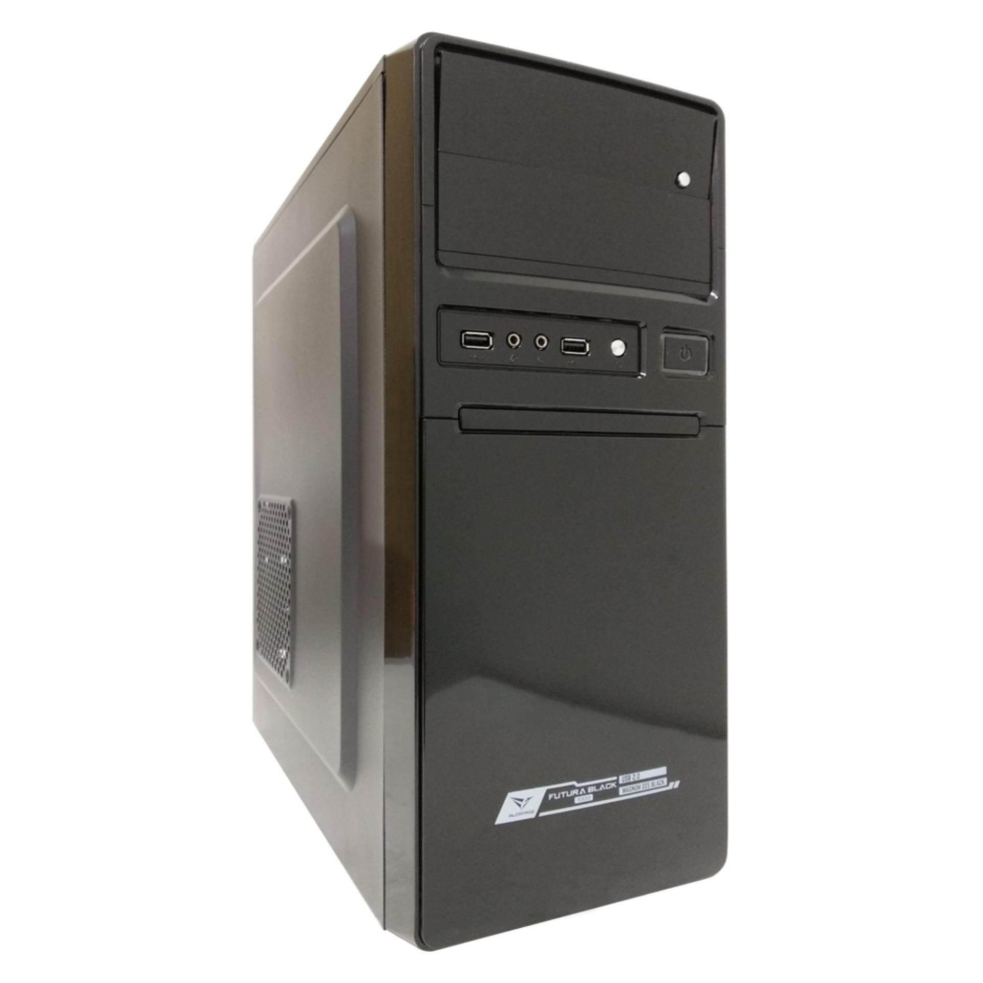 Alcatroz Futura Black 1000 Computer Casing Malaysia
