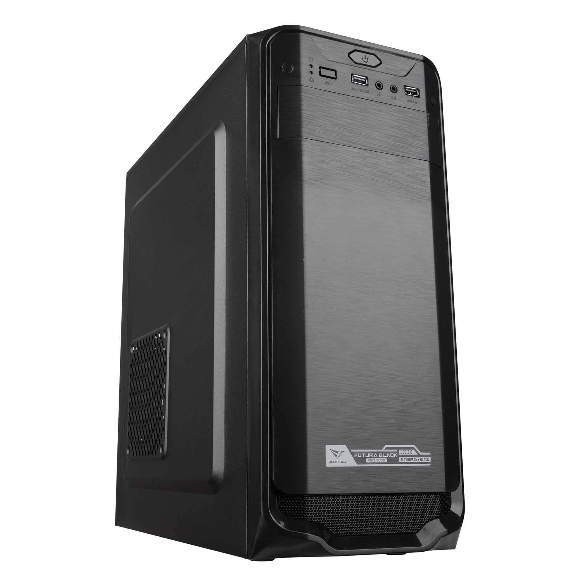 Alcatroz Futura Black Pro 7000 Full ATX PC Chassis with 225W Power Supply Malaysia