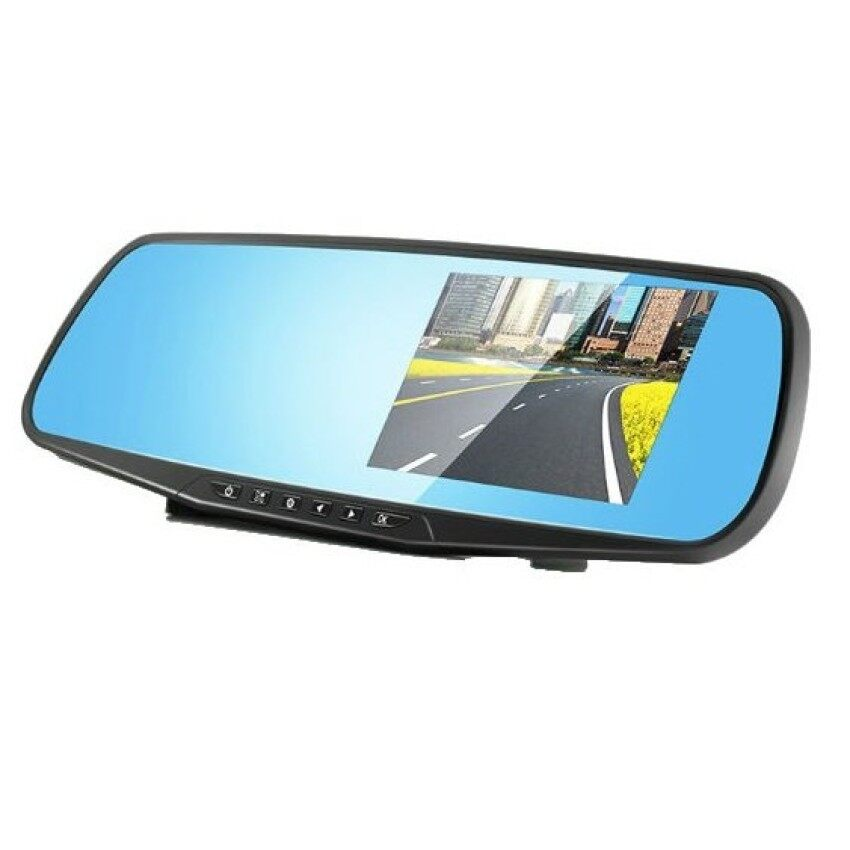 AllGreat New Full HD 1080P Car Dvr Camera Night Vision 4.3 Inch Rearview Mirror Digital Video Recorder Car Vehicle DVR Camera Dash Cam with Night Vision – intl
