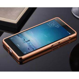 Aluminum Mirror Metal Bumper Case Cover for Xiaomi Mi 4i (Rose Gold) - 2 ...