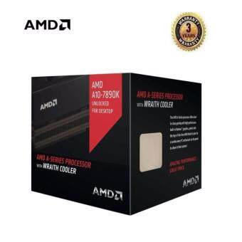 AMD PROCESSOR A10 7890K A-Series APU with Radeon R7 Graphics &Wraith Cooler (AD789KXDJCHBX)