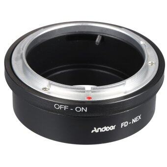 Harga Andoer FD-NEX Adapter Ring Lens Mount for Canon FD Lens to Fit for Sony NEX E Mount Digital Camera Body Outdoorfree