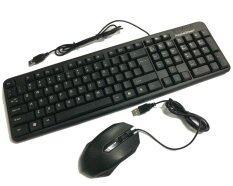 Apple Green KB-858 Waterproof Gaming USB Keyboard + Q-NEXOS USB OPTICAL MOUSE MS-Q1 Combo Set Malaysia