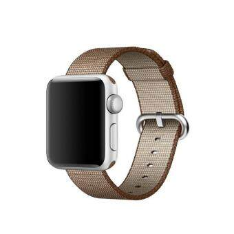 Apple Watch Strap 38mm,Premium Nylon Woven Smart Watch ReplacementWrist Watch Band with Adjustable Buckle