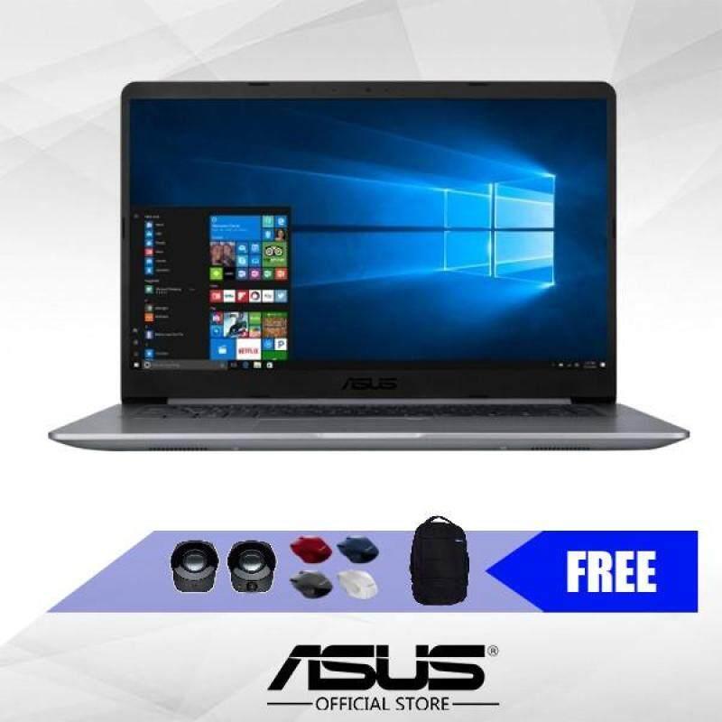 Asus Vivobook A510U-QBQ624T 15.6 FHD Laptop (i5-8250U,4GB,1TB, GT940MX,W10) - Grey*Free Gift Worth RM99* Malaysia