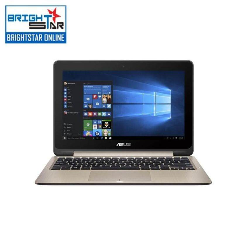 Asus Vivobook Flip TP201S-AFV0023 Notebook - Gold (14inch / Celeron / 4GB / 500GB / Intel HD / DOS) Malaysia