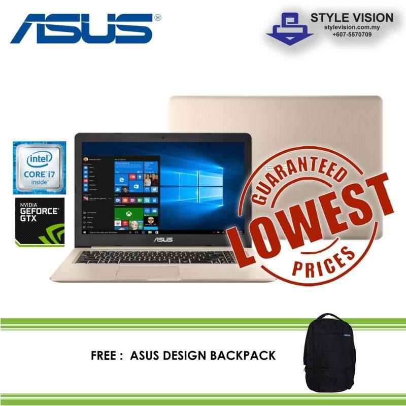 Asus Vivobook Pro N580V-DE4568T | 15.6 FHD | i7-7700HQ | 4GB | 1TB | 128GB | NV GTX1050 | W10H | Malaysia