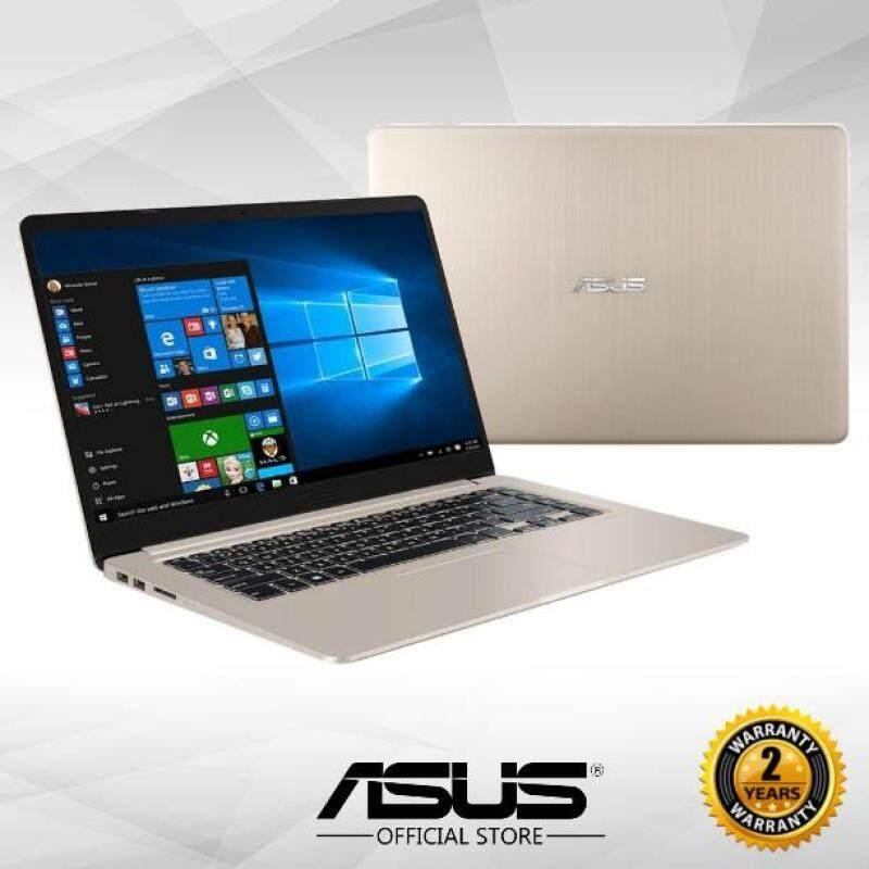 Asus Vivobook S15 S510U-QBQ620T 15.6 FHD Laptop (i5-8250u, 4GB, 1TB, GT940MX 2GB, W10H) - Gold Malaysia