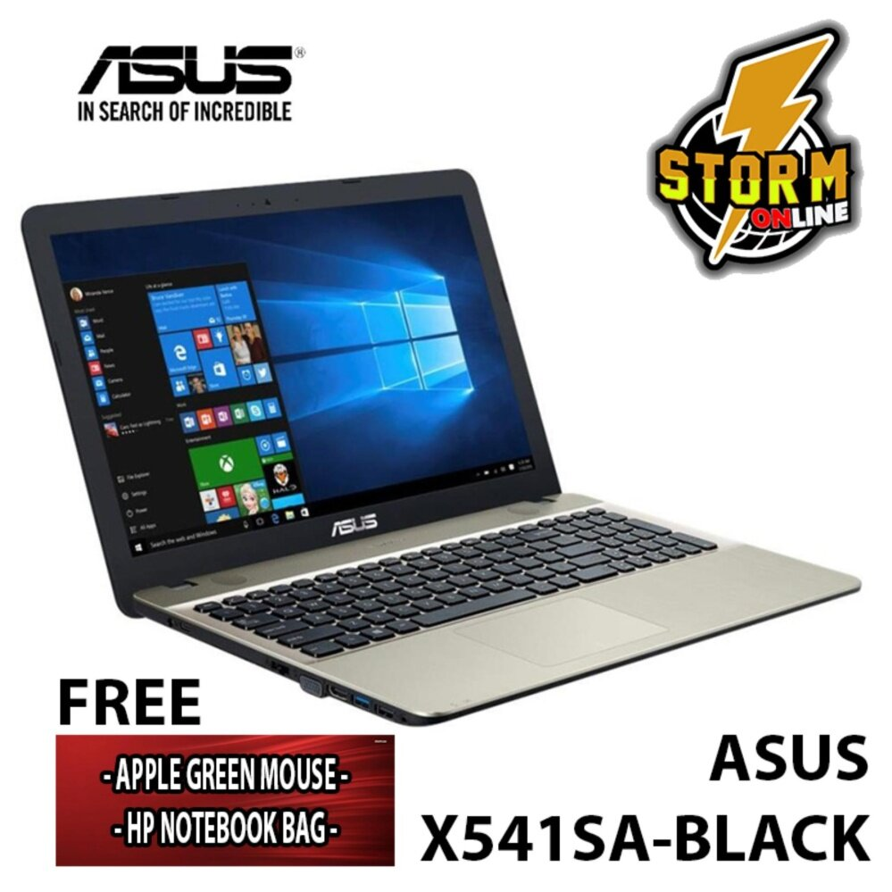 ASUS X541SA-MULTICOLOR (BLACK,BLUE,RED,SILVER) Malaysia