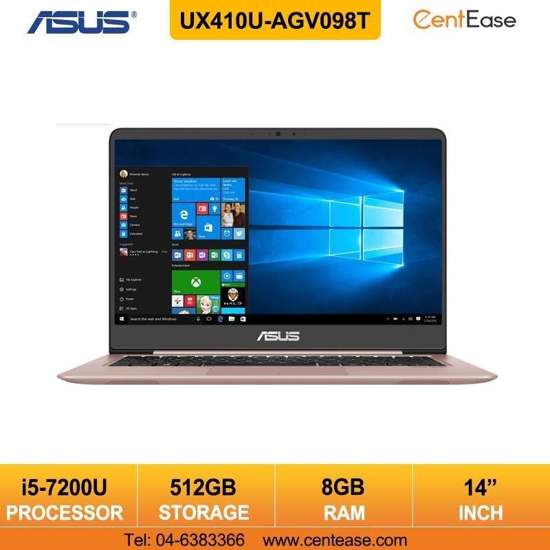 Asus Zenbook UX410U-AGV098T Ultrabook Notebook Intel Core i5 WIndows 10 512GB SSD/ Rose Gold Malaysia