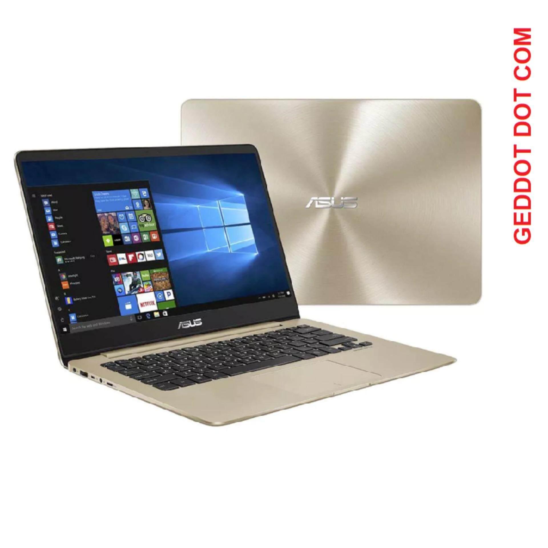 ASUS Zenbook UX430U-AGV215T NOTEBOOK (I5-7200,8GB,256GB SSD,W10,14,GOLD) Malaysia