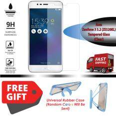 Tempered Glass For Asus Zenfone 3 52 Ze520kl Round Edge 25d Clear Source Round Edge 25d