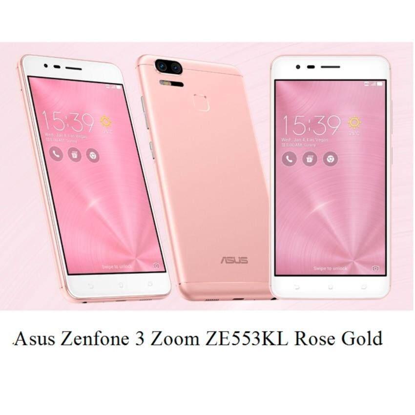 Asus Zenfone 3 Zoom ZE553KL [64GB ROM/4GB RAM/5,000mAh Battery]Original Asus Malaysia Set